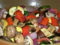 Salads And Dressings - Vegetable -  Grilled Ratatouille Salad
