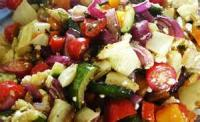 Salads And Dressings - Vegetable -  Overnight Vegetable Salad