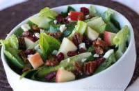 Salads And Dressings - Layered Walnut Salad