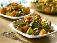 Salads And Dressings - Spinach -  Spinach Salad With Avocado, Melon And Picante Dressing
