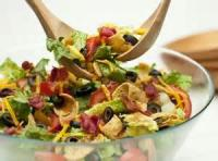 Salads And Dressings - Vegetable -  Quick Picante Salad Toss