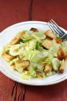 Salads And Dressings - Lettuce Salad With Cooked Dressing