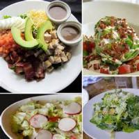 Salads And Dressings - Vegetable -  Red Onion, Tomato And Cucumber Salad With Vanilla And Melon Vinaigrette