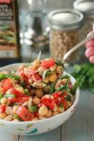 Salads And Dressings - Tomato -  Tomato Bean Cups