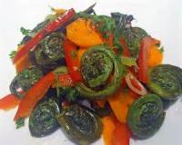 Salads And Dressings - Vegetable -  Fiddlehead Salad
