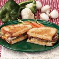 Sandwiches - Grilled Roast Beef Sandwiches