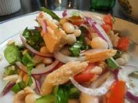 Salads And Dressings - Tomato Stuffed With  Tuna And Beans