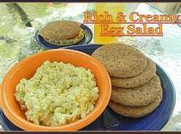 Sandwiches - Rich And Creamy Egg Salad