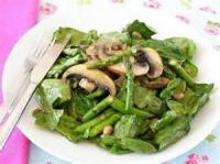 Salads And Dressings - Blackened Portobello Mushroom Salad