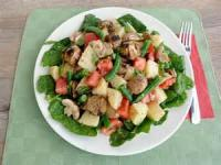 Salads And Dressings - Vegetable -  Mock Potato Salad