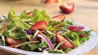 Salads And Dressings - Vegetable -  Romaine Salad With Raspberry Dressing