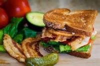 Sandwiches - Bacon -  Bacon, Lettuce, Avocado And Bleu Sandwich