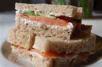 Sandwiches - Smoked Salmon Sandwiches