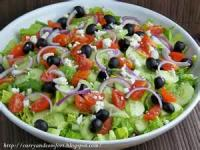 Salads And Dressings - Greek Salad