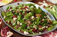 Salads And Dressings - Spinach -  Special Spinach Salad