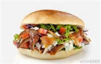Sandwiches - Gyros -  Doner Kebap