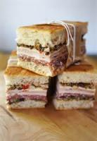 Sandwiches - Muffaletta -  Muffaletta Loaf