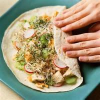Sandwiches - Wraps -  Asian Chicken Salad Wraps
