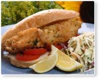 Sandwiches - Seafood -  Fried Grouper Sandwich