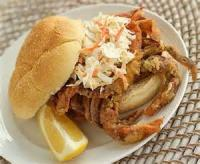 Sandwiches - Seafood -  Md Blue Soft-shelled Crab Sandwich