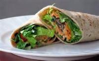 Sandwiches - Wraps -  Spicy Ranch Chicken Wraps