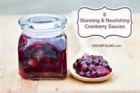 Sauces - Cranberry Sauce