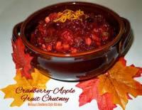 Sauces - Fruit -  Cranberry Apple Chutney