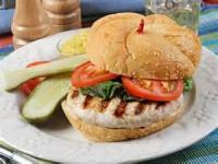 Sandwiches - Turkey -  Grilled Jalapeno Turkey Burgers