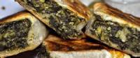 Sandwiches - Vegetarian -  Feta, Cucumber And Spinach Pita Sandwiches