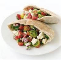 Sandwiches - Vegetarian -  Greek Salad Pitas