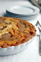 Pies - Apple -  Warm Apple Buttermilk Custard Pie