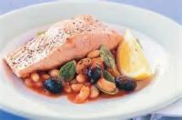 Low_fat - Seafood -  Barbecue Roasted Salmon