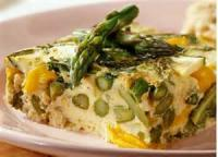 Low_fat - Vegetable -  Roasted Asparagus With Orange Sauce
