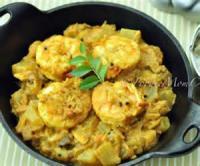 Low_fat - Seafood -  Hot Garlic Shrimp With Asparagus