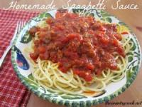 Sauces - Tomato -  Spaghetti Sauce With Grape Jelly