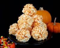 Snacks - Orange Popcorn Balls