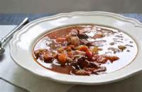 Soups - Bean -  Crockpot Ham And Bean Soup