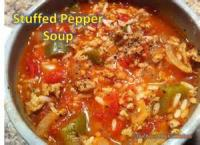 Soups - Stuffed Pepper Soup