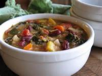 Soups - Bean And Vegetable Soup