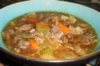Soups - Beef -  Rice And Cabbage Soup