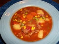 Soups - Beef -  Vegetable Soup