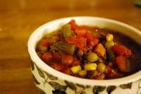 Soups - Beef -  Vegetable Soup In Crockpot