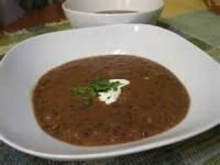 Soups - Black Bean Soup By Liz