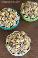 Snacks - Popcorn -  Peanut Butter Popcorn Bars