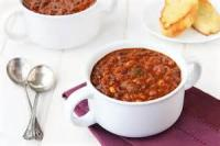 Soups - Anasazi Bean Soup With Corn And Chiles