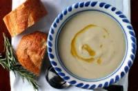 Soups - Bean -  White Bean Soup With Rosemary And Parmesan
