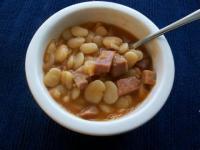 Soups - Ham And Lima Bean Soup