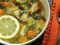 Soups - Chicken -  Lemon Chicken Soup