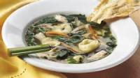 Soups - Pasta -  Tortellini And Spinach In Broth