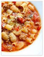 Soups - Sausage And Bean Soup